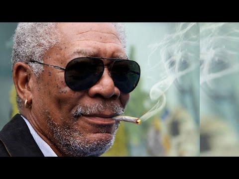 Morgan Freeman Loves Pot: I'll Eat It, Drink It, Smoke It, Snort It!