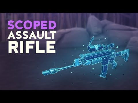 SCOPED ASSAULT RIFLE (Fortnite Battle Royale)