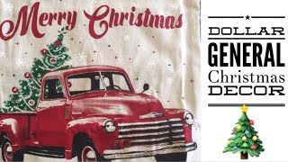 Dollar General Christmas & Holiday Stock 2018