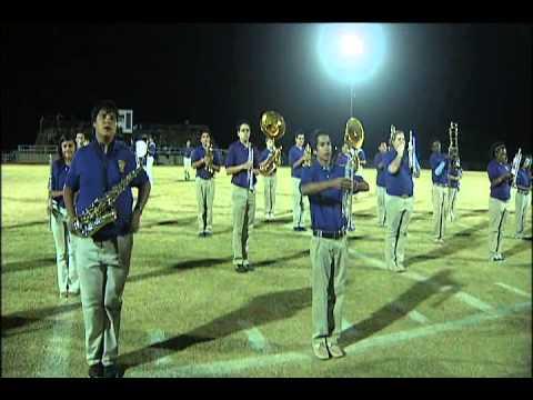Crosbyton High School Marching Band Performance-(Crosbyton vs Smyer)
