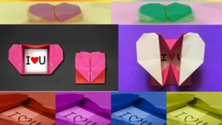 Paper heart box secret message | Heart Box With Surprise Ring for Valentines Day | Super easy DIY