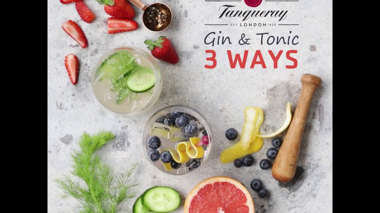 Gin & Tonic 3 Ways | Great Summer Living
