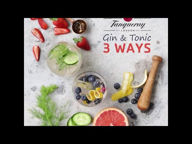 Gin & Tonic 3 Ways | Great Summer Living