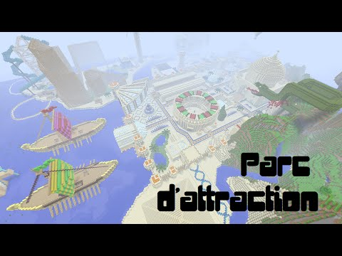 parc d 39 attraction minecraft xbox 360 youtube. Black Bedroom Furniture Sets. Home Design Ideas