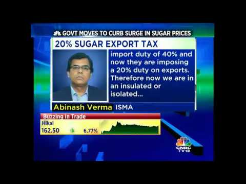 Govt Moves To Curb Surge In Sugar Prices