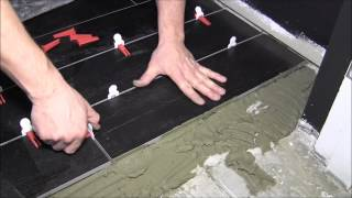 How to install 6x36 porcelain tiles with Perfect Level Master
