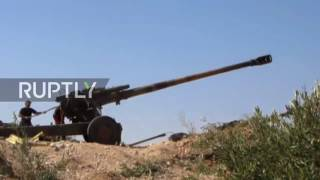Syria War 2017 - Army sappers blow up IS 'headquarters' in Deir ez-Zor