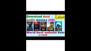 How to Download Any Latest Movie In Dual Audio (HD) Without Torrent