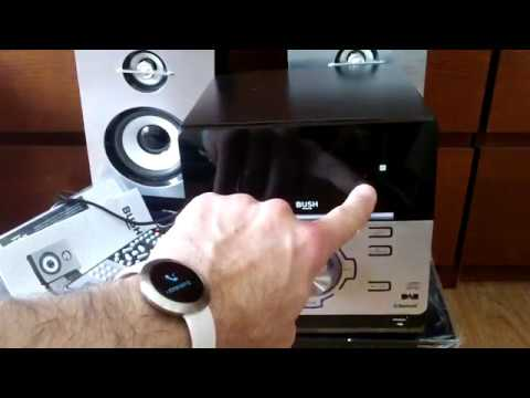 Testing | Bush DAB mini hi-fi system with bluetooth | CMC361DABBT | cd player