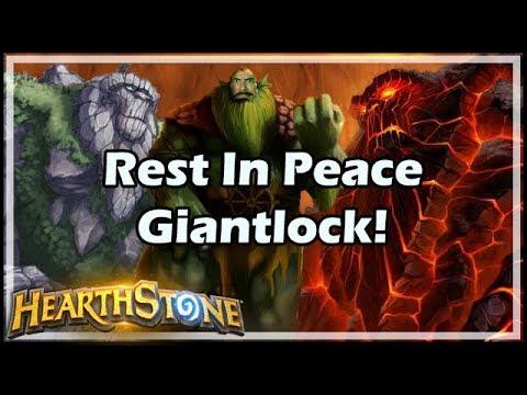 Hearthstone Rest In Peace Giantlock!