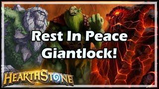 [Hearthstone] Rest In Peace Giantlock! thumbnail