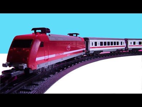 TRAIN FOR KIDS  ♥  CITY TRAIN Passenger Train VIDEO FOR CHILDREN ♥   !!! DICKIE TOYS