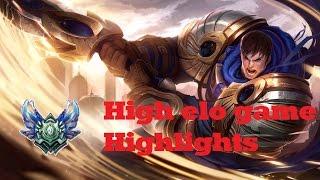 High Elo Game Highlights (Garen VS Garen) - League of Legends