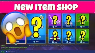Fortnite Battle Royale Brand New Daily Items Shop Update Countdown! Todays item Shop Reset Skins!