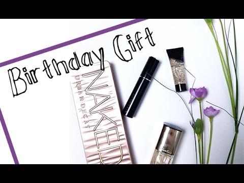 AMAZING Birthday Gift// Urban Decay, Givenchy, Guerlain ...//MIM ...