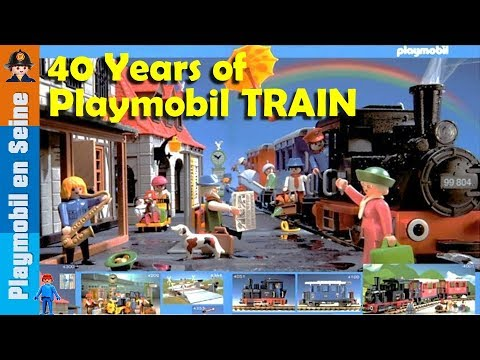 Playmobil WORK Train - YouTube |Playmobil Train Layouts