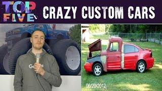 Top 5 Weird and Crazy Custom Cars
