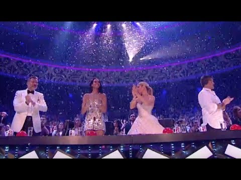 Little Magician Issy Simpson Delivers Some Amazing Card Tricks With SNOW | Final | BGT2017