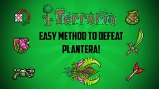 Video Terraria ios 1.2.4 | How to defeat Plantera (Easy Method!) 2017 download MP3, 3GP, MP4, WEBM, AVI, FLV November 2018