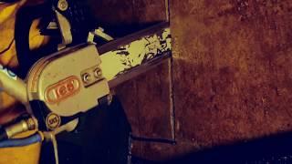 TRONÇONNEUSE CHAINE DIAMANT HYDRAULIQUE 300MM vidéo