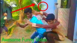 Awesome Funny Videos  Fun in Village Boy_Best Bangla Funny Video And Funny News Pagla BaBa