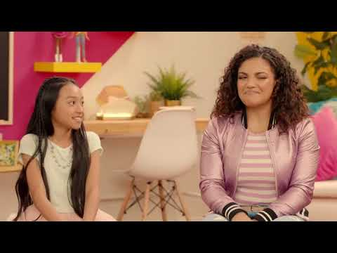 Laurie Hernandez sits down to chat about how girls are changing the world!