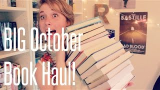 BIG October Book Haul!! Thumbnail