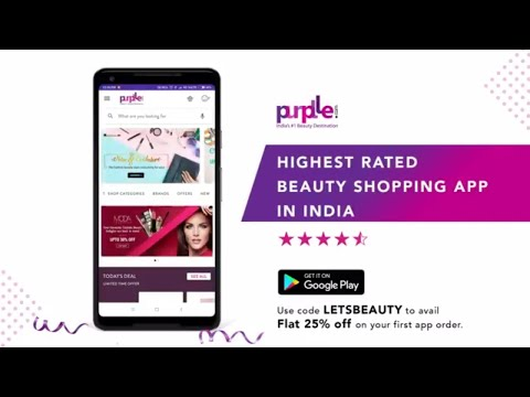 Purplle: Beauty Shopping App  Buy Cosmetics Online - Apps