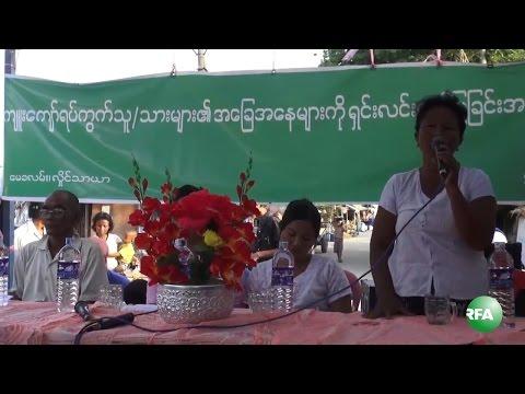 Slum Residents Seek for Non violence Solution