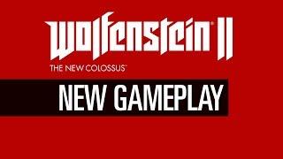 Gameplay - Wolfenstein 2 The New Colossus - 60 Minuten Gameplay