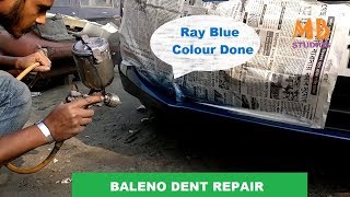 Baleno Dent Repair and New Paint