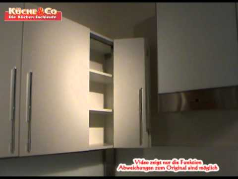 k che co h ngeschrank mit faltt youtube. Black Bedroom Furniture Sets. Home Design Ideas