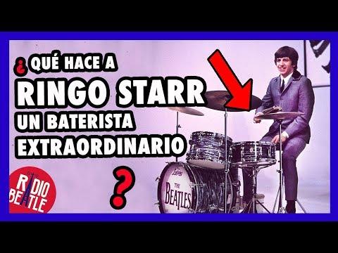 ¿Qué hace a RINGO STARR un Baterista EXTRAORDINARIO?  RadioBeatle