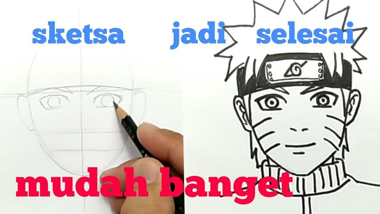51 Gambar Kartun Naruto Dengan Pensil Himpun Kartun