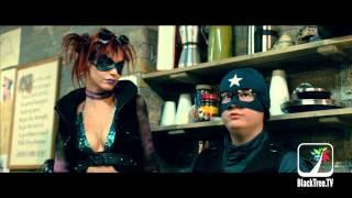 Donald Faison on playing a vigilante and Jim Carrey controversy | Kick Ass 2
