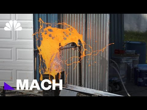 Scientists Are Creating Batches Of Homemade Lava To See It Explode   Mach   NBC News