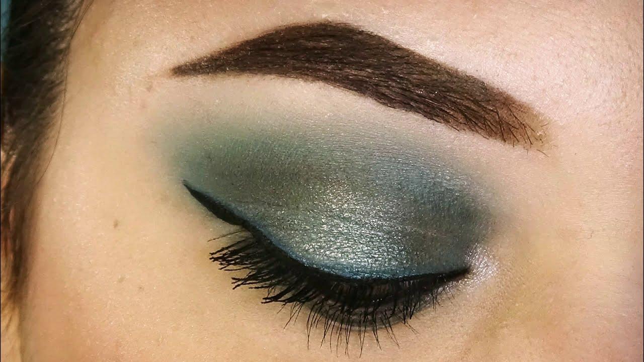 Trucco VERDE ACQUA | Smokey Eyes | Makeup Tutorial ...