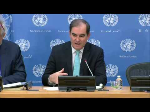 John Ging (OCHA) on his recent trip to Yemen - Press Conference (1)