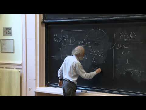 Mikhael Gromov - 1/4  Mathematical Structures arising from Genetics and Molecular Biology