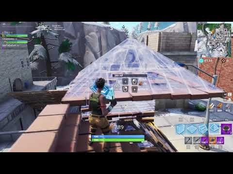 NEVER Before Seen Fortnite Tactic Using Turrets! How to Break into a Player's 1x1