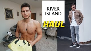 Gambar cover HUGE River Island Men's Clothing Haul & Try On | Men's Fashion 2020