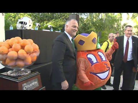 Orange Bowl Head Coaches Press Conference