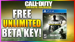new how to get free infinite warfare beta codes free unlimited beta codes ps4 xboxone free beta
