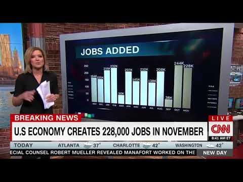 CNN's Christine Romans Highlights November's Really Good Jobs Numbers