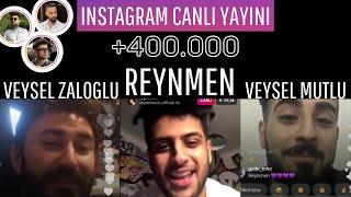 Reynmen ve Veysel Mutlu + Zaloğlu yayın yapıyorlar! Video