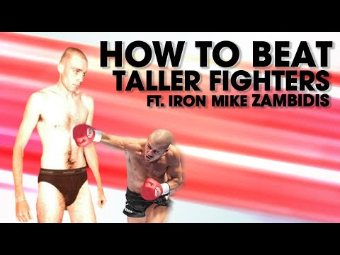 How to Beat Taller Fighters ft. Iron Mike Zambidis | Lawrence Kenshin
