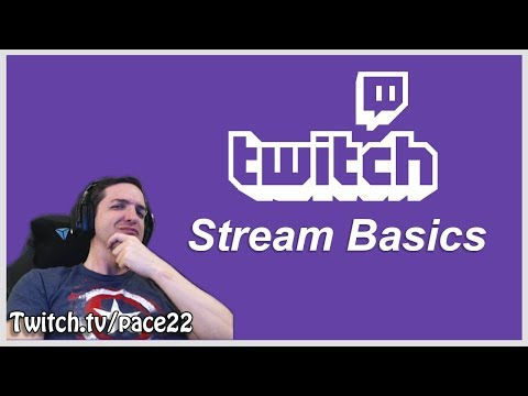 Basic Streaming Tips - Pace22