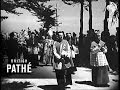 Ile D'yeu Part Of World News   Funeral Of Petain (1951)