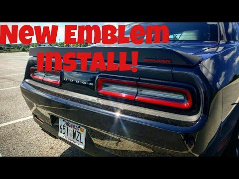 Challenger Shaker New Emblem Install