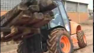 AUSA Agriculture Rough Terrain Forklift C250H
